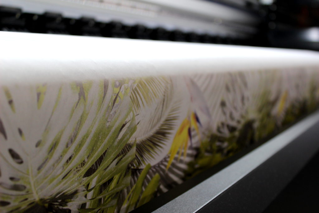 Digital fabric printing on a wide range of fabrics and textiles
