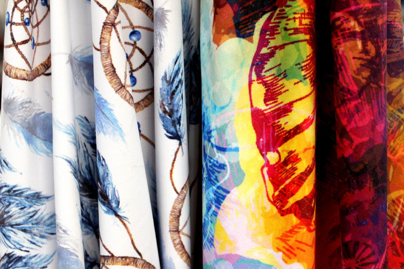 Textile printing for fashion fabrics and home decor fabrics