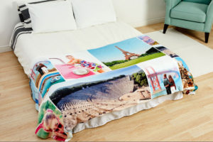 Digitally printed duvet cover