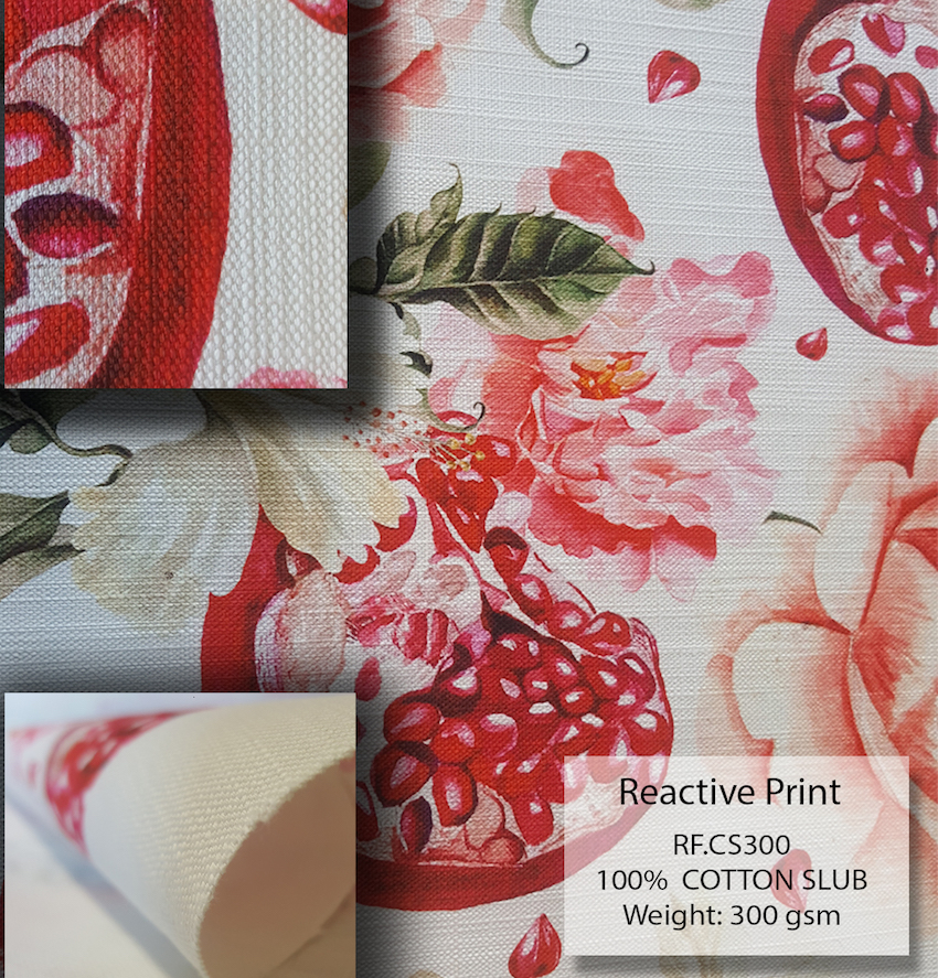Cotton slub is one of the most versatile fabrics for your next home décor project