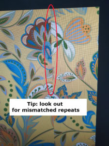 tip: look out for mismatched repeats