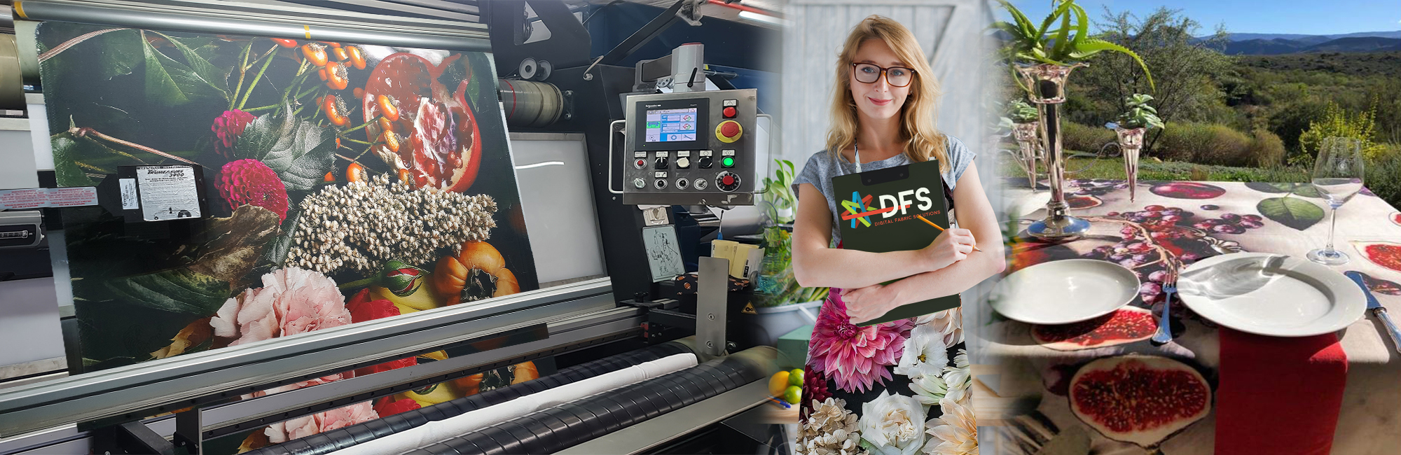 Digital fabric printing for fabrics and textiles for home decor