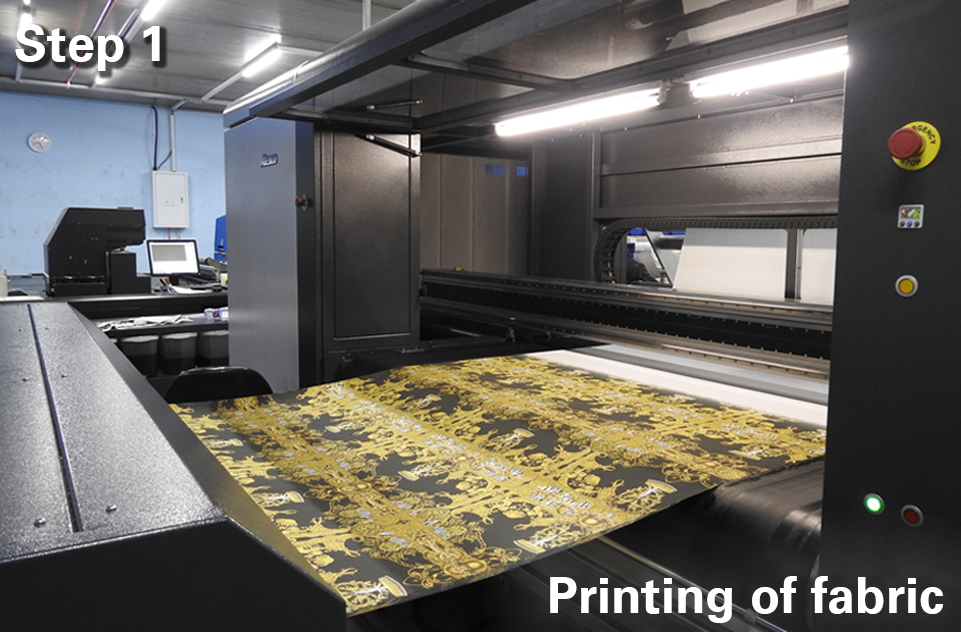 printing unique designs on fabric and textiles