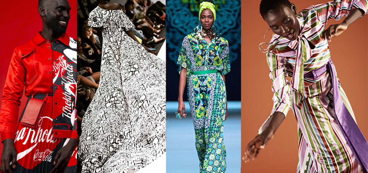 African heritage prints are used by some of South Africa's top designers