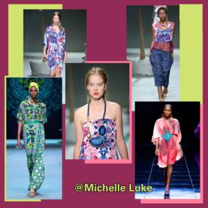 Michelle Ludek runway fashion