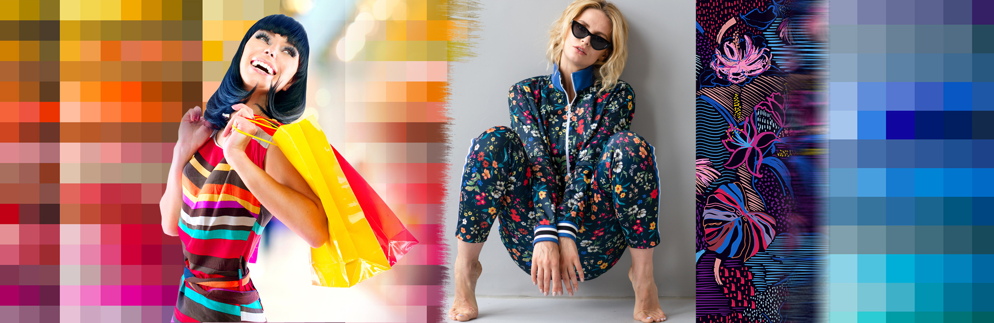 digital printing with bold colour vibrancy