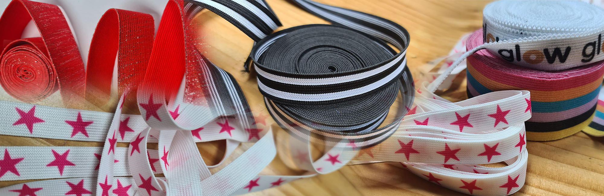 elastics and trims for clothing manufacturers