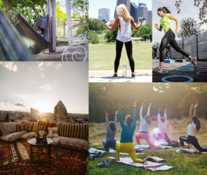 global trend towards outdoors and fitness