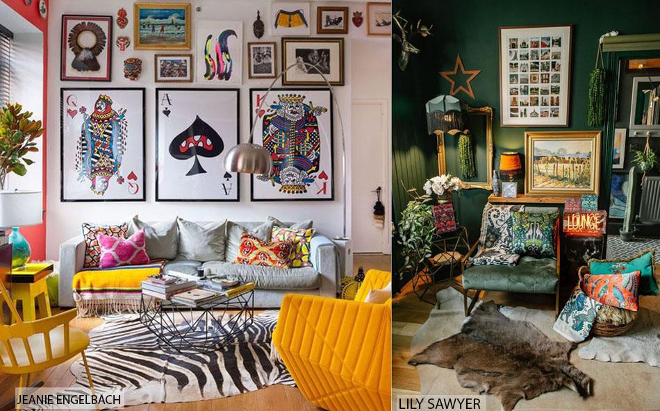 maximalism floral design trend interiors