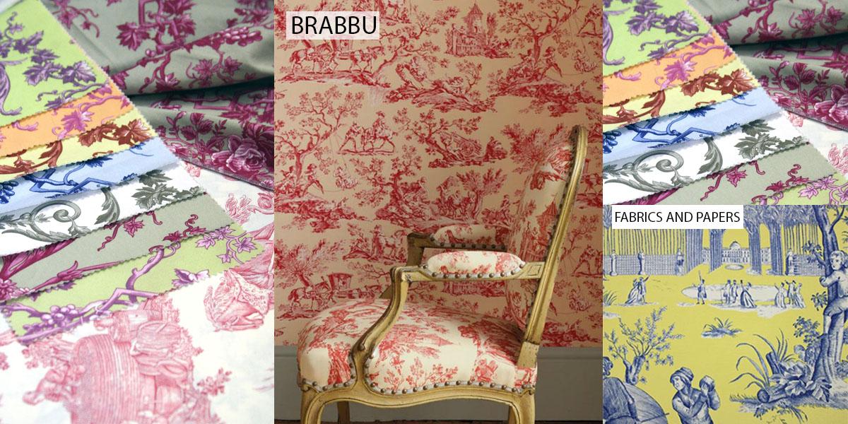 toile de jouy interior fabric prints