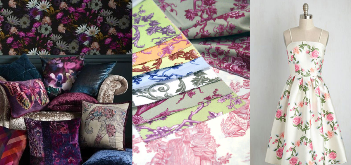 floral trend interiors 2021